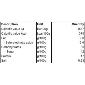 Dextro Energy Enery Bar Caja 24 x 50g, Vanilla